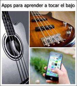 Aplicaciones para aprender a tocar el bajo