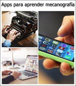 Aplicaciones para aprender a escribir mecanografía