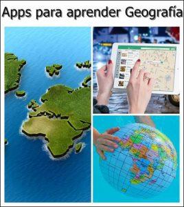 aplicaciones para aprender Geografía