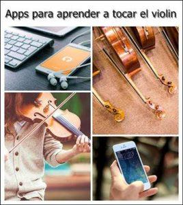 aplicaciones para aprender a tocar el violín