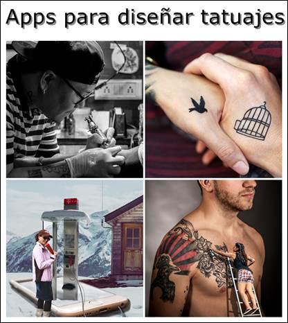 Aplicaciones para diseñar tatuajes