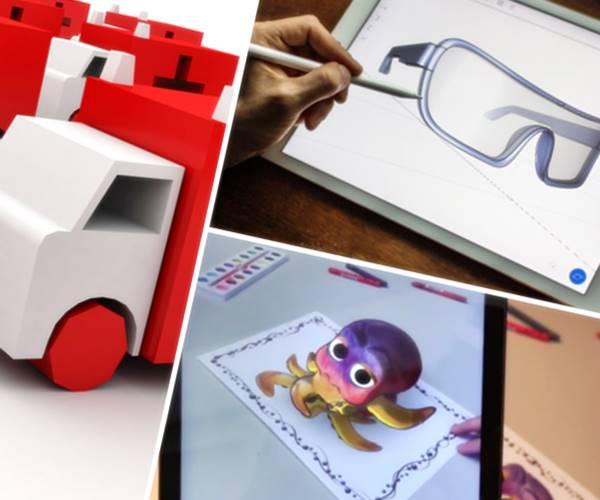 apps para dibujar en 3d