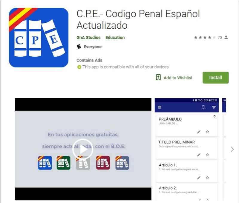 Codigo Penal Español