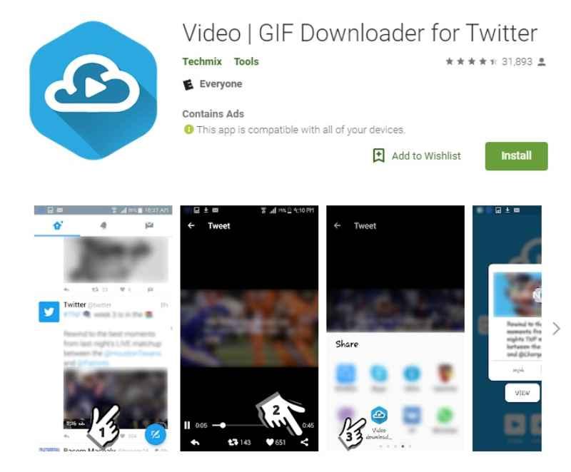 GIF Downloader For Twitter