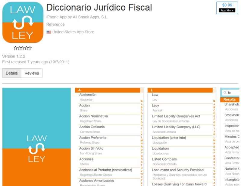 Diccionario Jurídico Fiscal