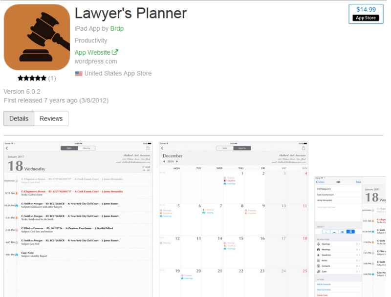 Lawyer's Planner