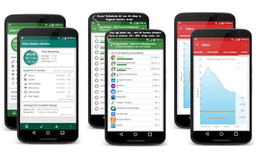 app ahorrador batería gsam