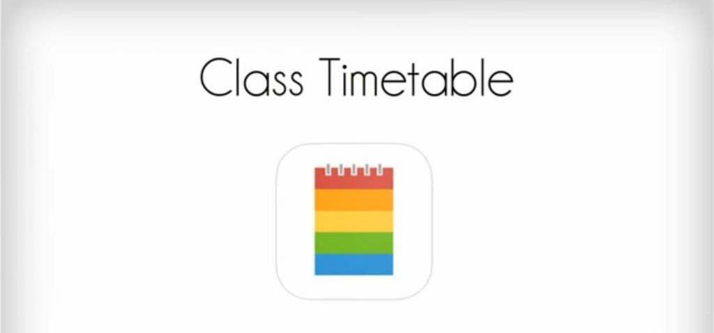 Aplicación para hacer horarios