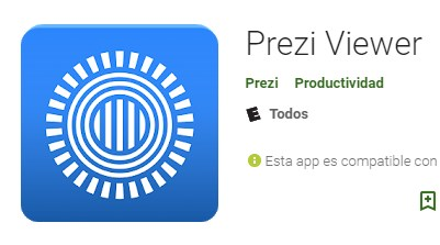 Apps para crear presentaciones Prezi Viewer