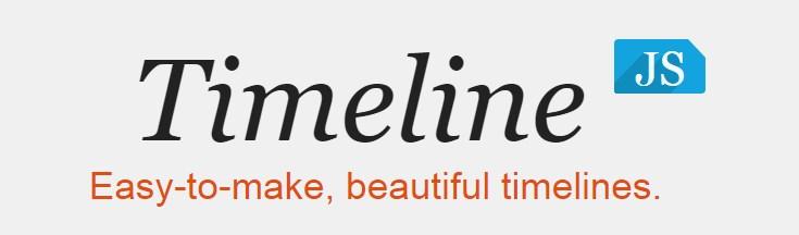 Aplicaciones para hacer líneas de Tiempo TimelineJs