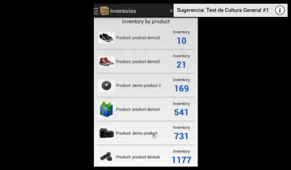 aplicación para crear inventarios