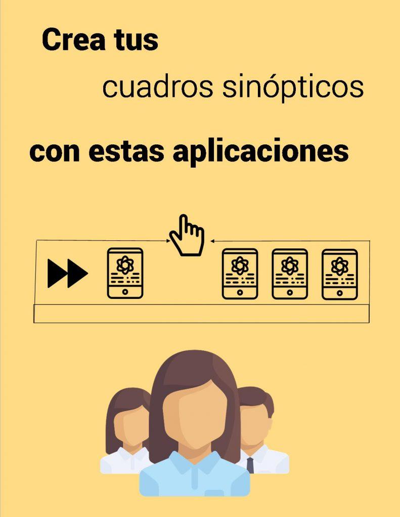 Aplicaciones para realizar cuadros sinópticos fácil y sencillo