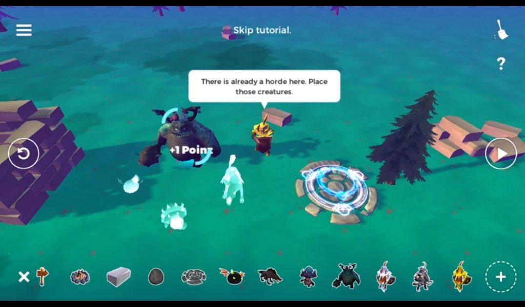 aplicación para crear juego 3d