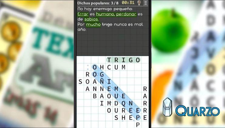 aplicación para hacer sopas de letras