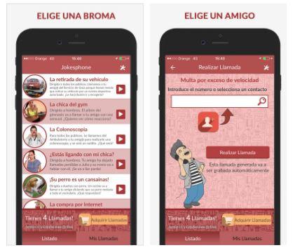 aplicaciones para hacer bromas por el móvil