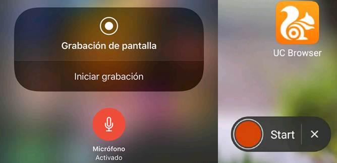 aplicaciones para grabar pantalla en android