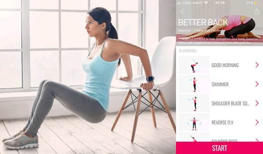 beneficios de apps para hacer ejercicio en casa