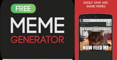 logo y gráfico de meme generator free