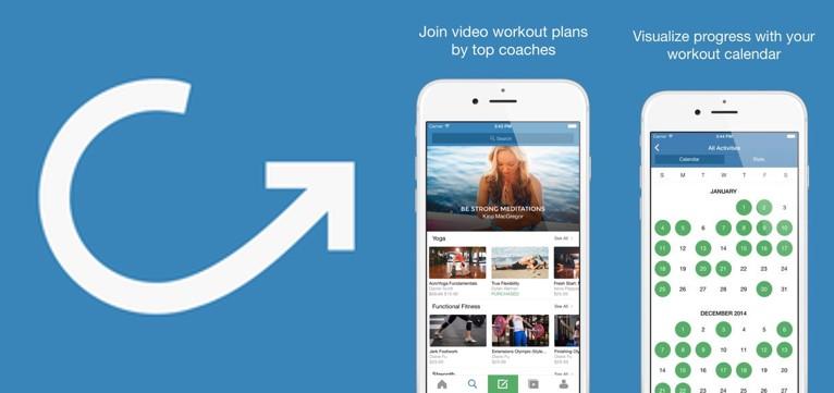 logo y gráficos de cody fitness video training