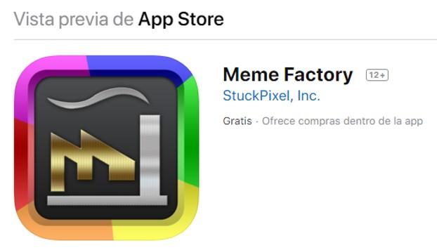 meme factory en app store ios