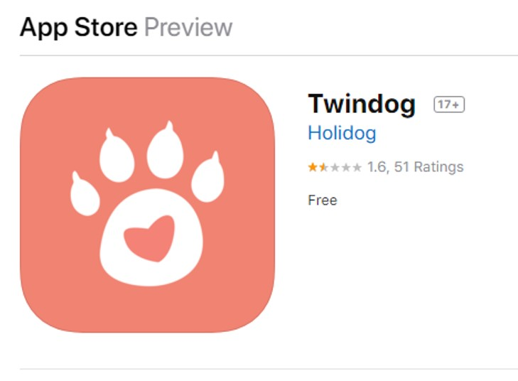 twindog en app store ios
