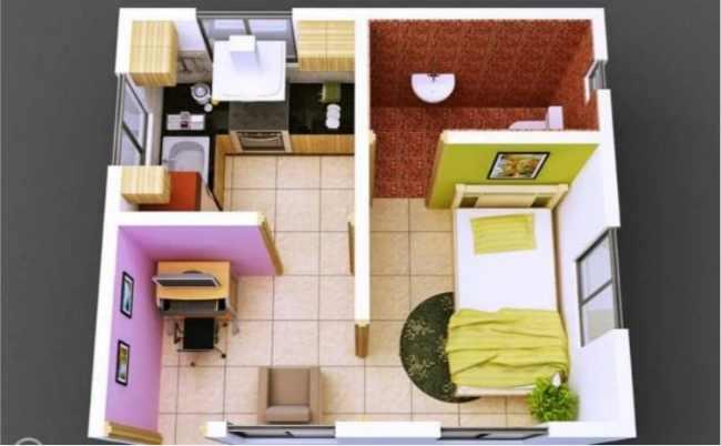Descargar 3D Pequeña Casa Diseño