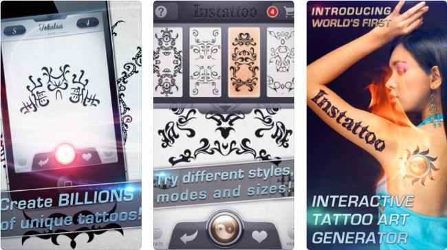 Descargar Instattoo - Tattoo Desinger