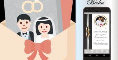app para diseño de tarjeta de invitación de boda