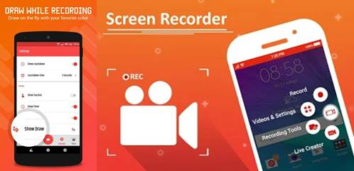 apps para grabar vídeollamadas hd screen recorder