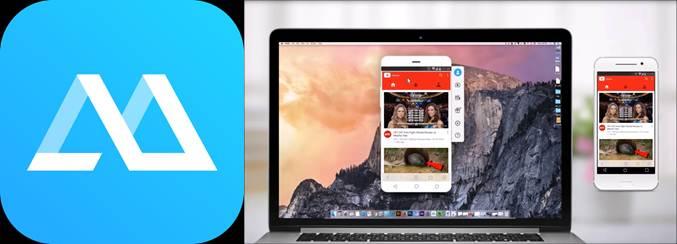 apps para grabar vídeollamadas logo apowermirror