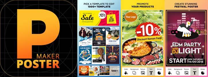 logo plantillas y herramientas de poster templates