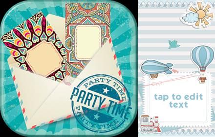 logo y modelo de tarjeta de fabricante de tarjetas de invitación
