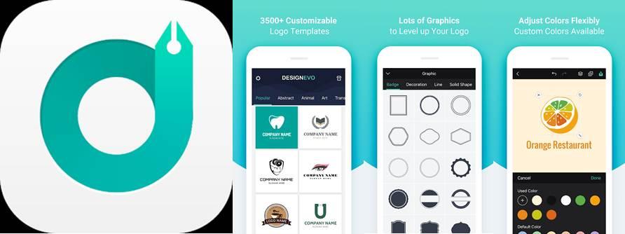 logo y opciones de la apps para crear logos desingevo