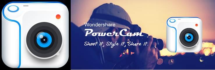 logo y publicidad de powercam
