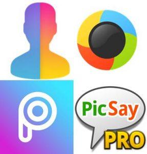 logos de aplicación para hacer fotomontajes