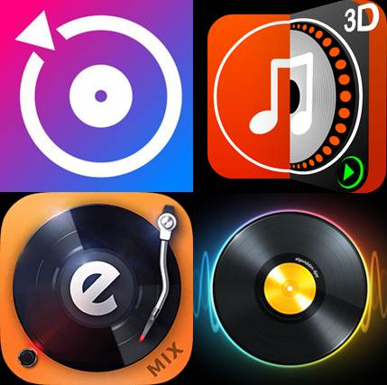 logos de aplicaciones para hacer remix