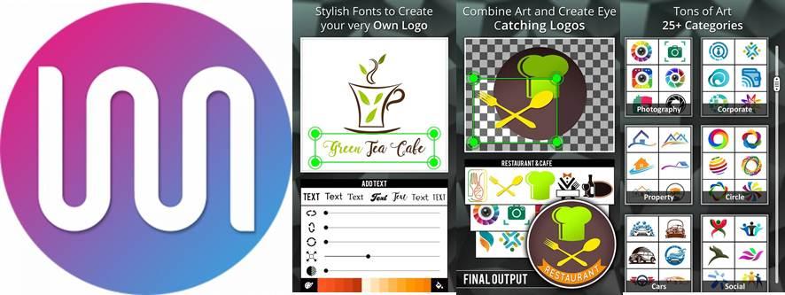 logotipo y herramientas de logo maker