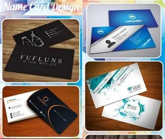 plantillas de tarjetas de diseño