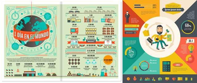 posters hechos con aplicaciones para hacer infografías