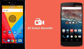 publicidad de az screen recorder y escritorio android