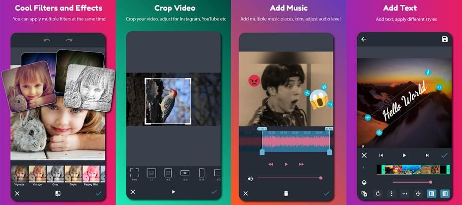 características y herramientas de la app