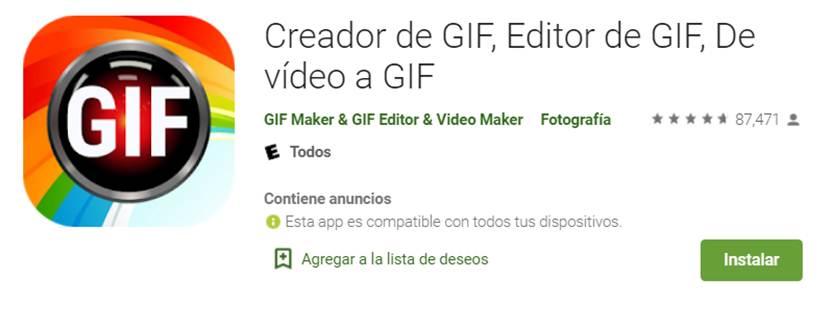 descargar creador de gif