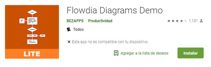 descargar flowdia diagrams demo