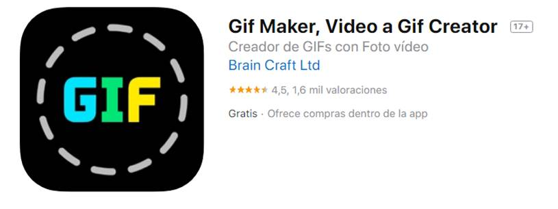 descargar gif maker - video a gif creator
