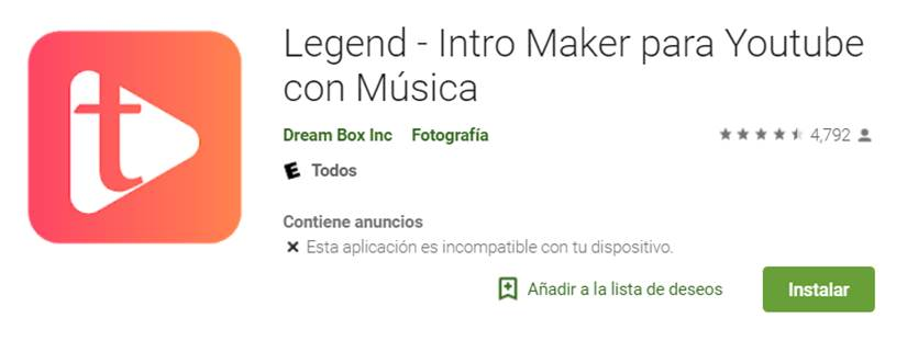 descargar legend en google play