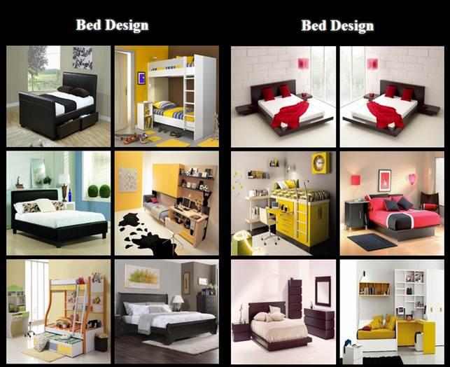 diferentes opciones en diseño de camas para adolescentes