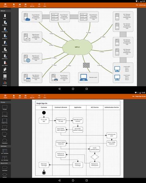 ejemplos de diagramas hechos con flowdia diagrams demo