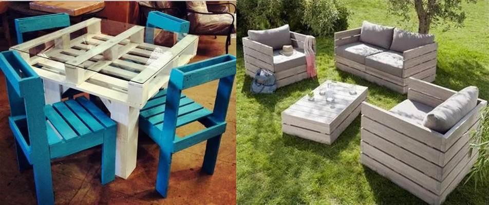 ideas de diseño en la app muebles de palets