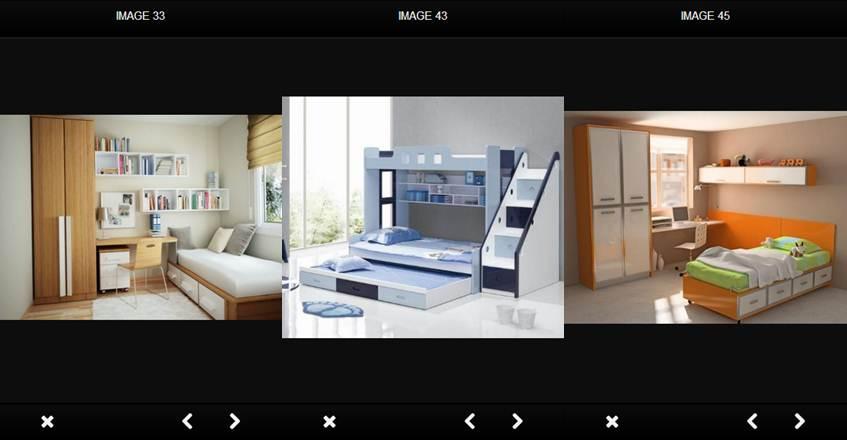 imágenes de diseños dentro de la aplicación
