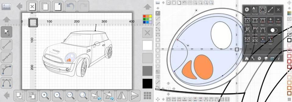 interfaz y diseños con la app idesign